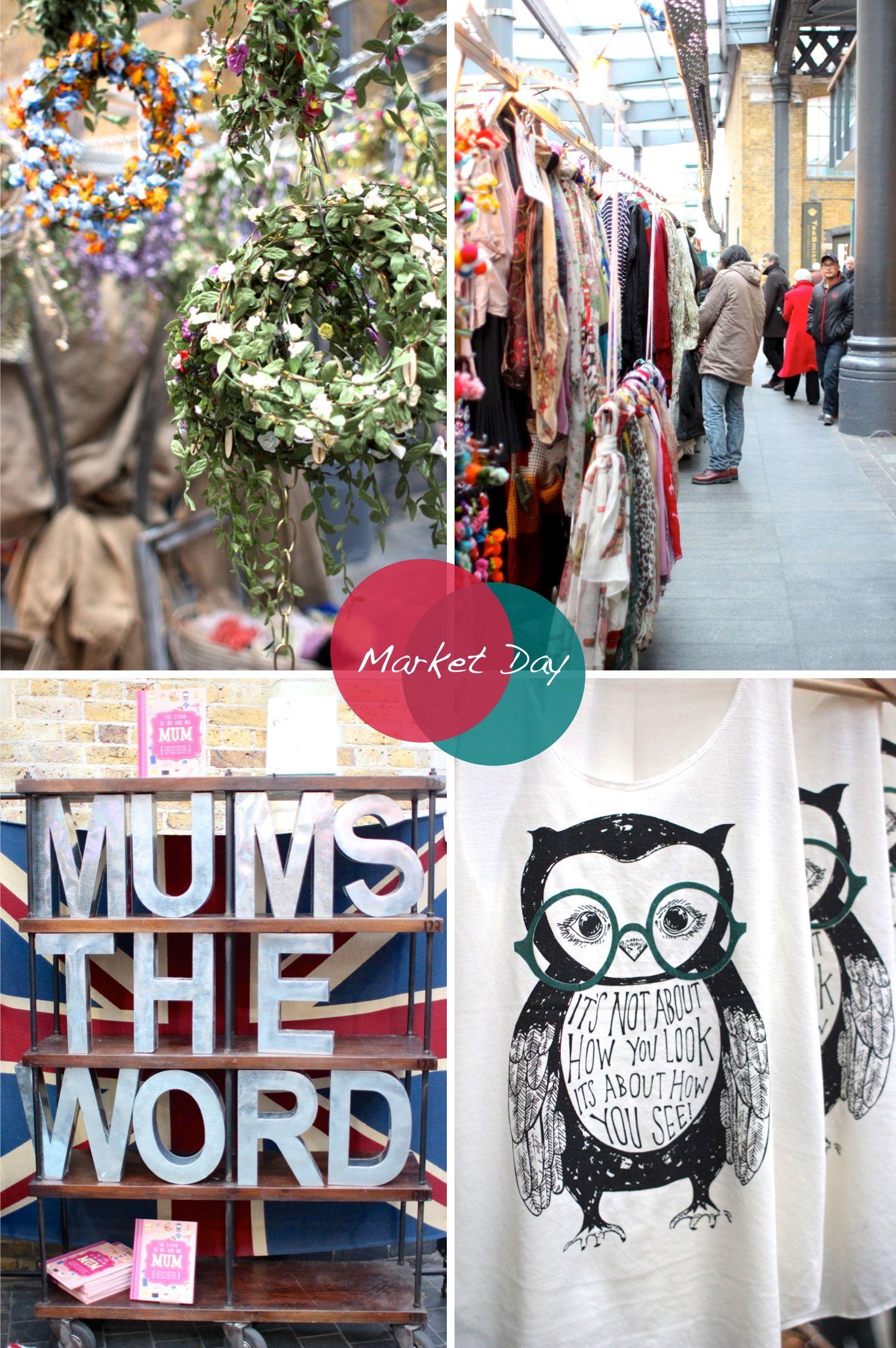 A walk around my favorite London market...