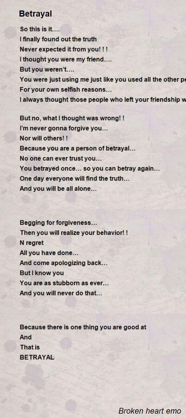 broken trust poems - Saferbrowser Yahoo Image Search ...