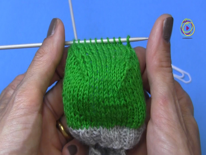 Projekt: Sockenstricken hier das Fersenkäppchen 4. Teil | skarpety ...