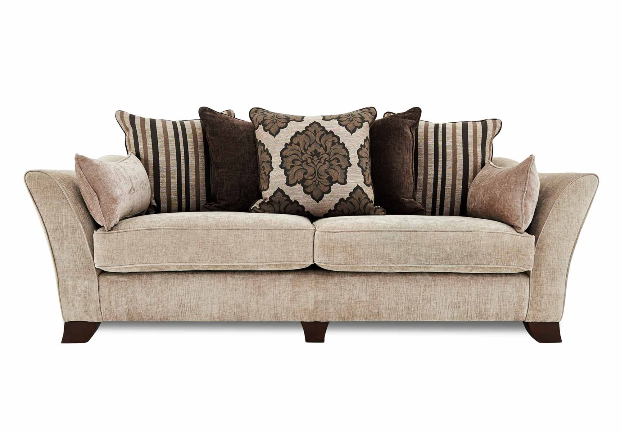 Sofa Cover  Seater Split Frame Scatter Back Sofa Annalise Gorgeous Living Room Furniture from Furniture