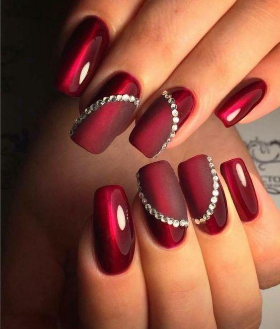merveilleux couleur de vernis ongles tendance 2018 nails in 2018 pinterest nails nail. Black Bedroom Furniture Sets. Home Design Ideas