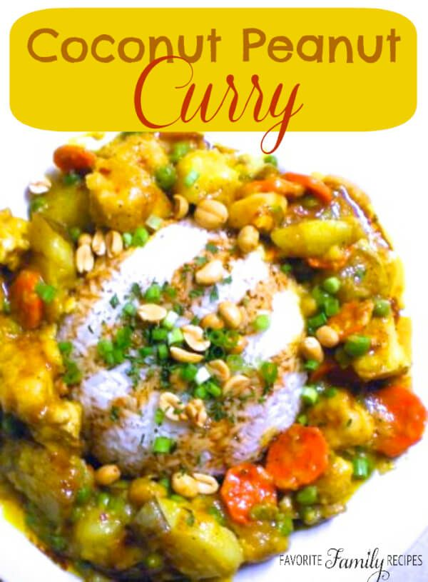 This coconut peanut curry is somewhere between a thai curry and an food forumfinder Gallery