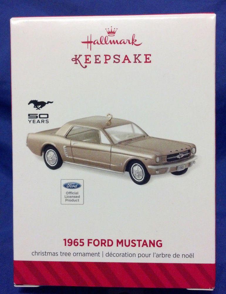 1965 Ford Mustang ~ Hallmark ~2014~ MIB~ E1 Vintage Vignettes, Vintage  Christmas - 1965 Ford Mustang ~ Hallmark ~2014~ MIB~ E1 Vintage Christmas
