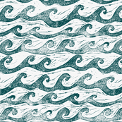 A cool collection of Ocean patterns on Spoonflower