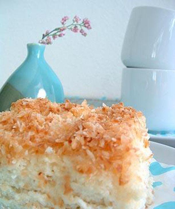 Kokos-Buttermilch-Tassenkuchen #mugcup