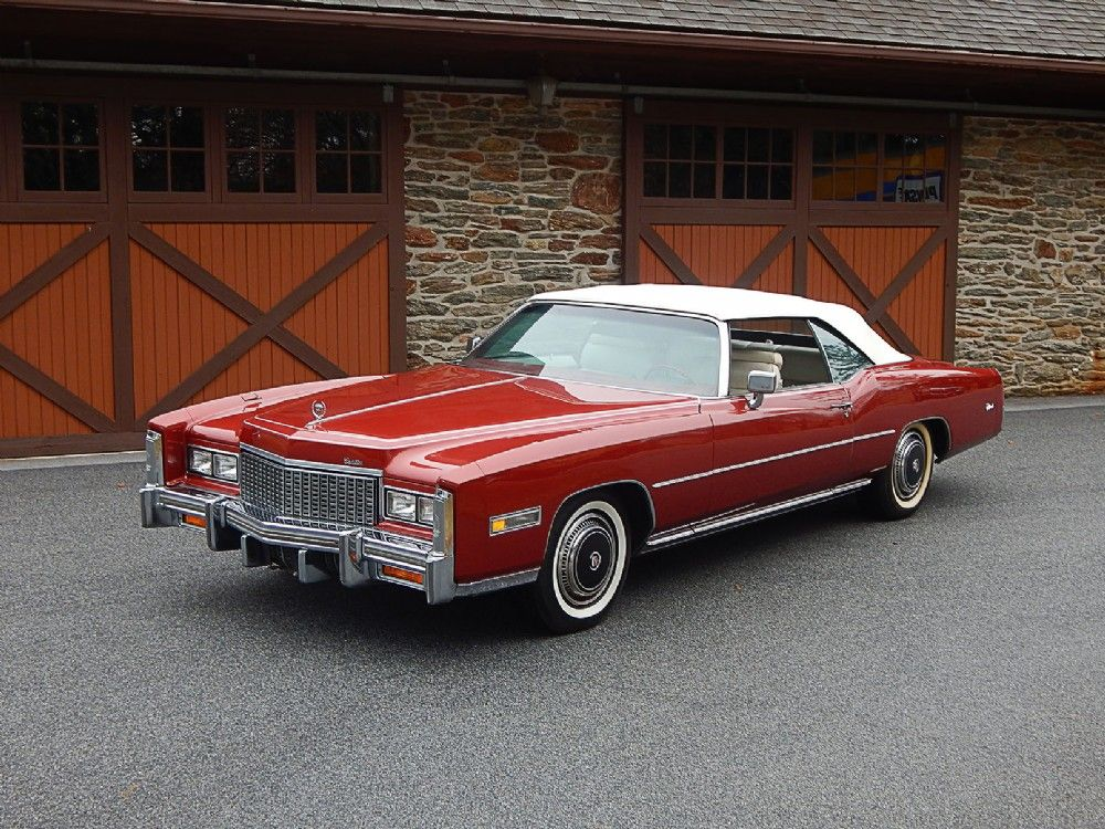 1976 Cadillac Eldorado Convertible for Sale | Dragone Classic Motor ...