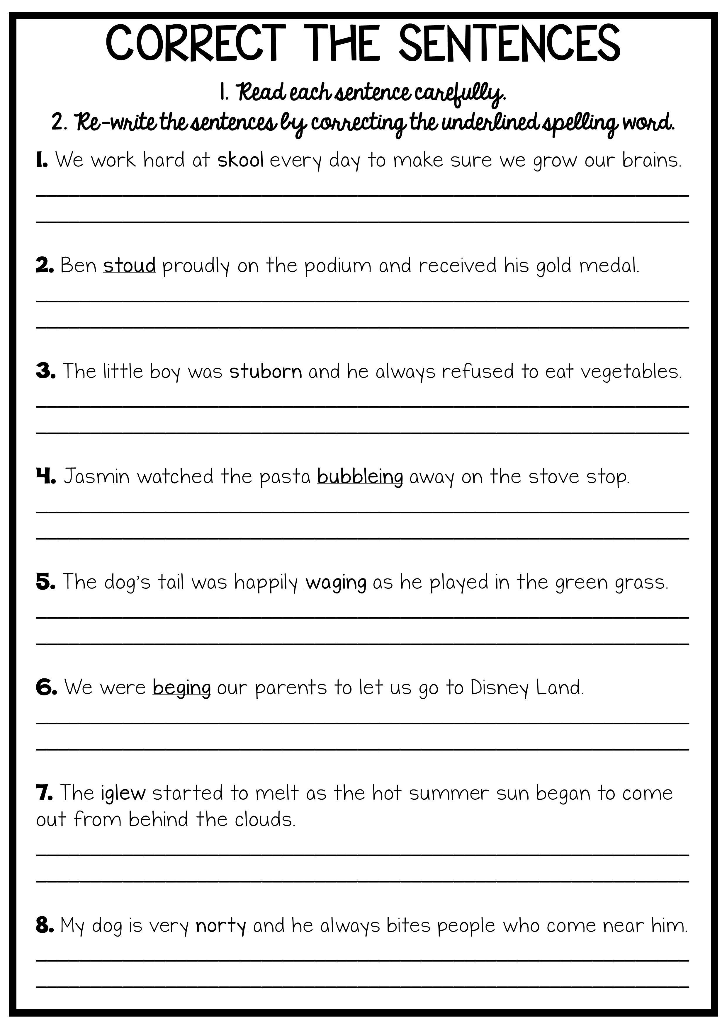 Reading And Grammar Pack
