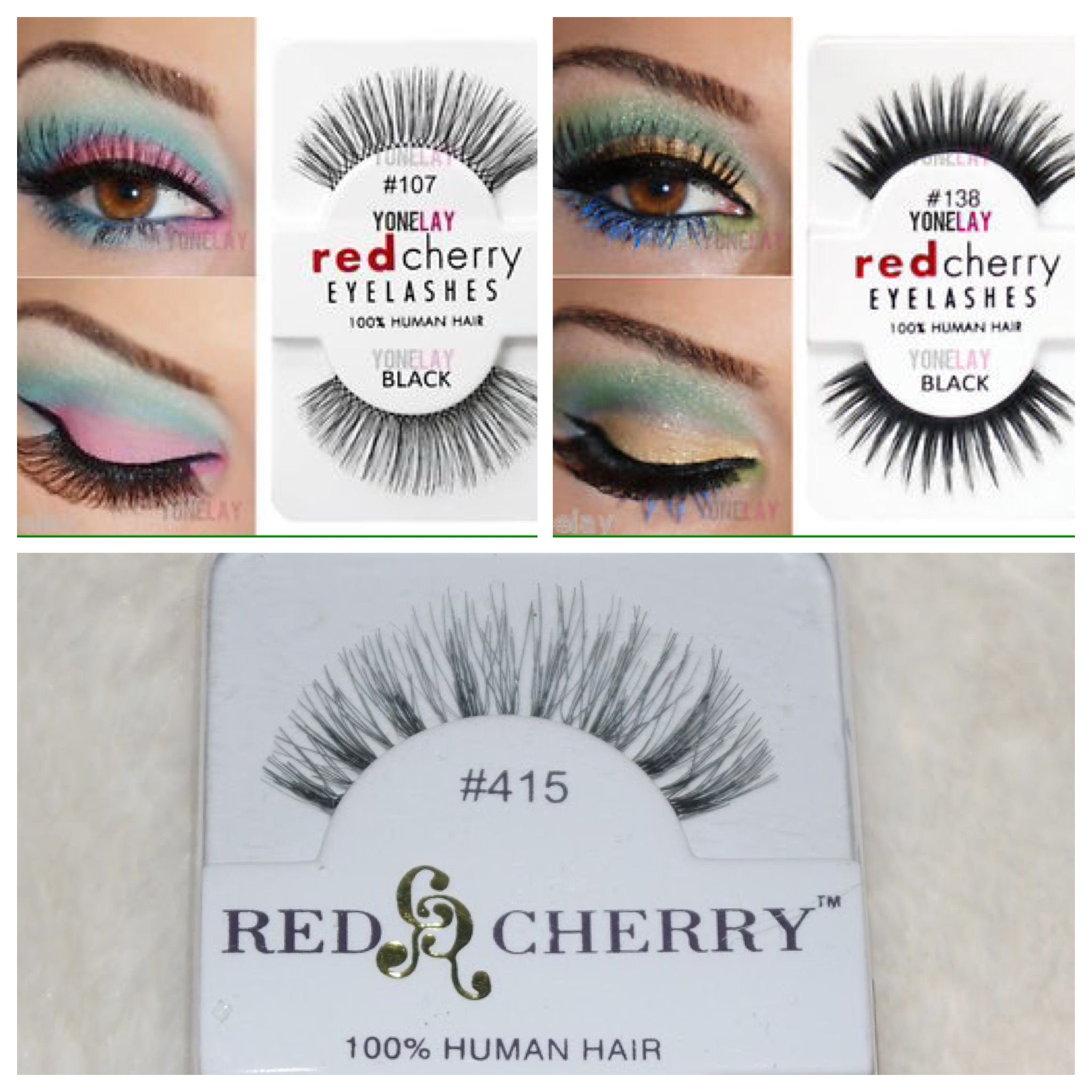 Red Cherry Lashes 523 747m Wsp Makeup Love In 2019
