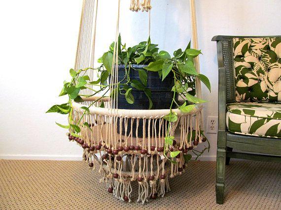 Macrame Plant Hanger Table Extra Large