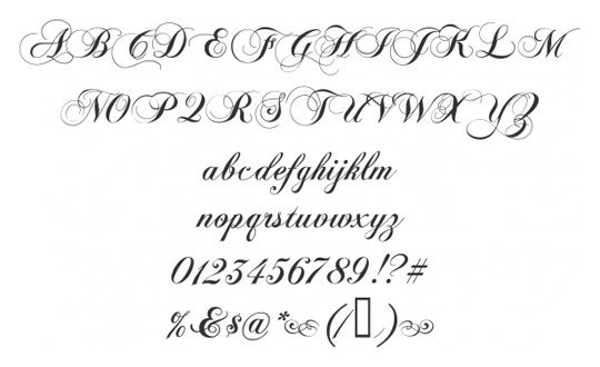 Old English Calligraphy Font