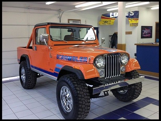 1982 Jeep Scrambler Cj 8 Mecum Auctions Jeep Scrambler Jeep Cj Jeep