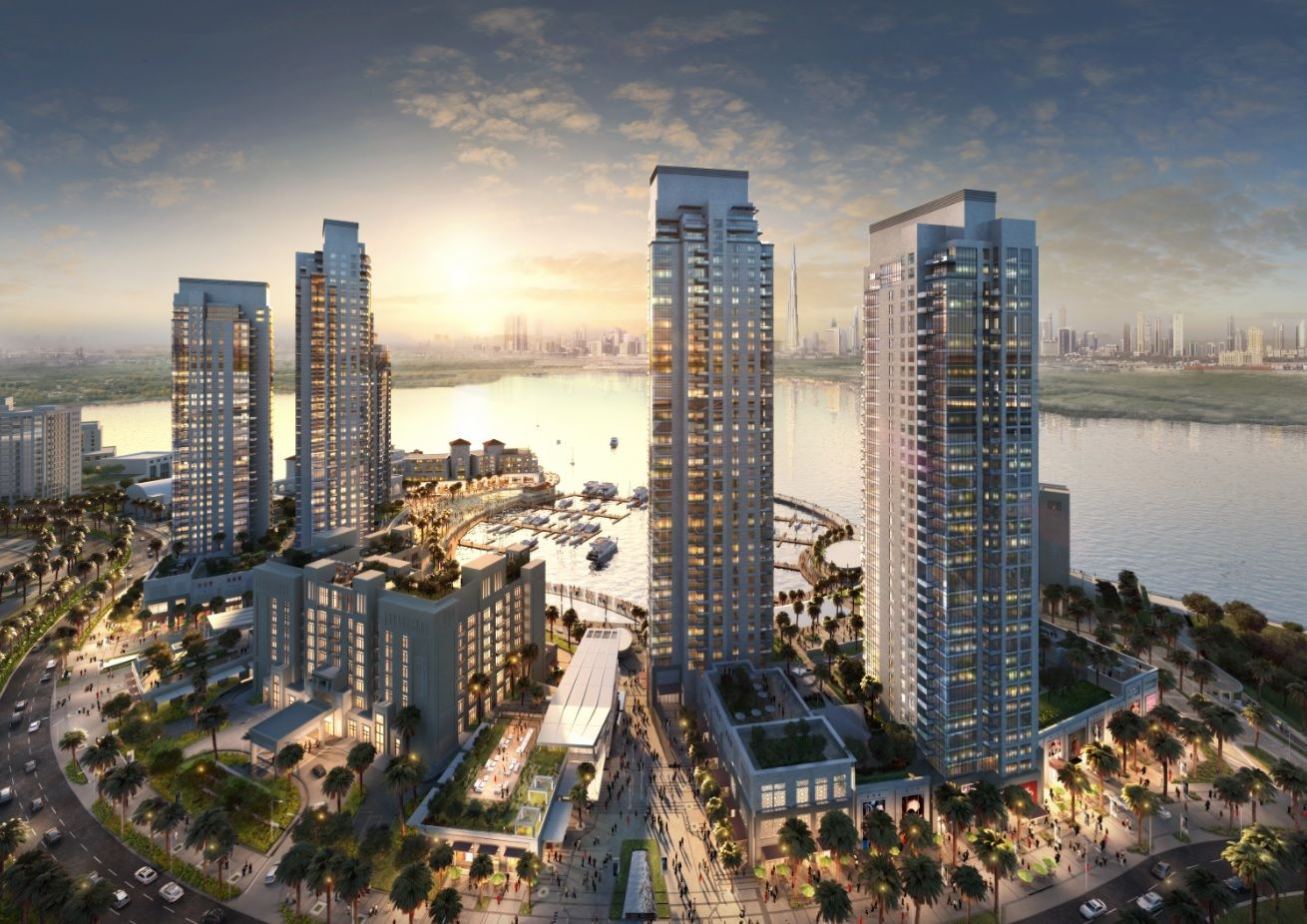 Discover Creek Horizon at the Dubai Creek Harbour. The towers enjoy ...