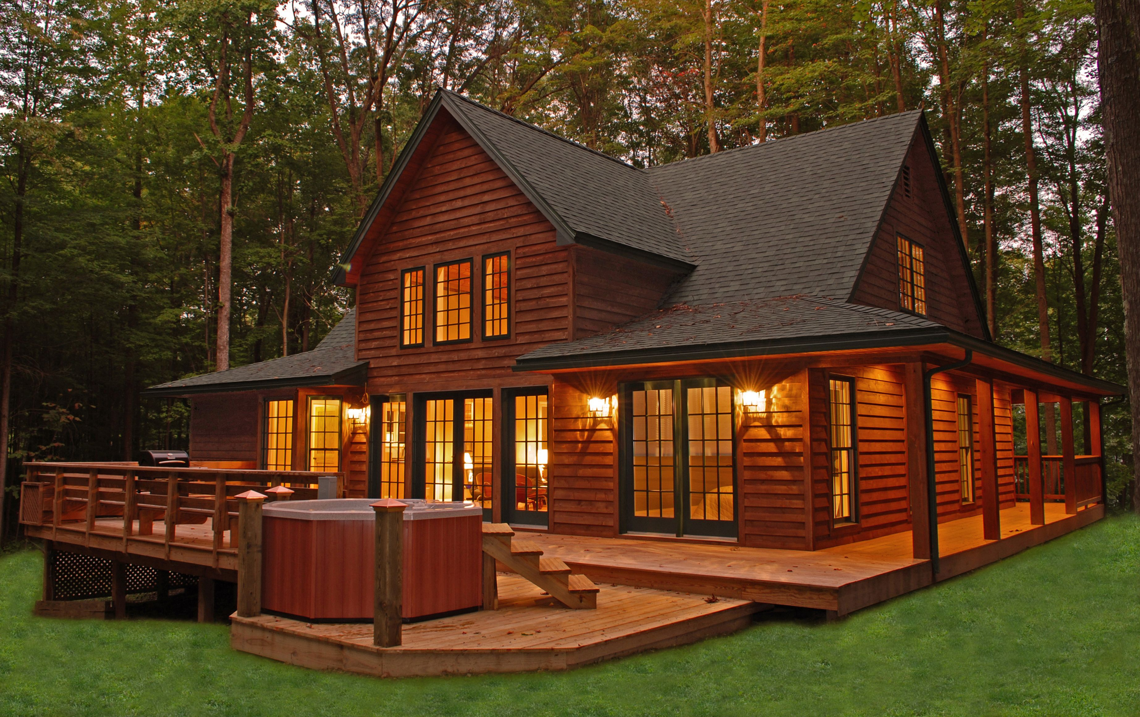 Genial Romantic Cabins To Rent