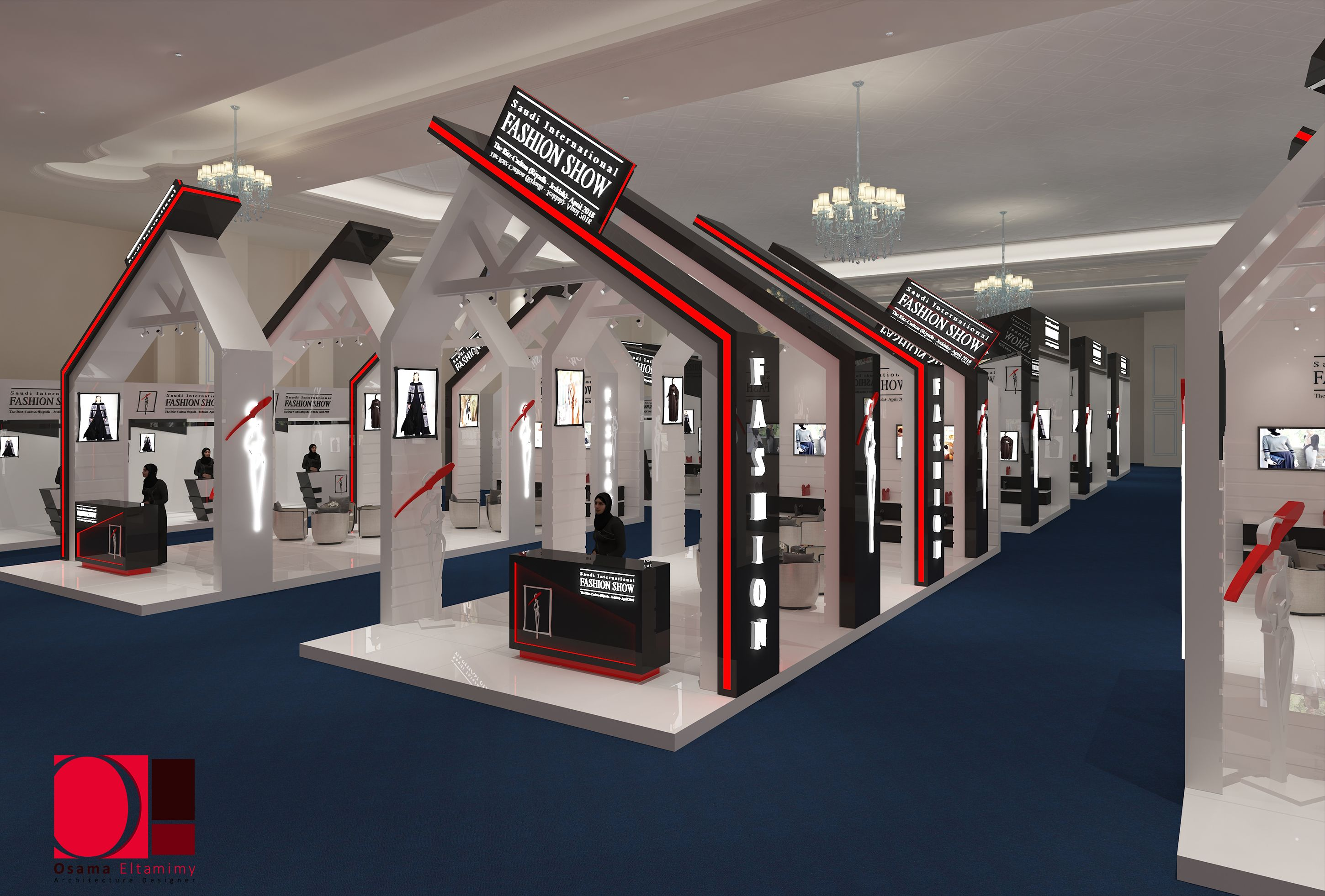Fashion Exhibition Stand Design : Pin by lord bushido on exhibition stand booth