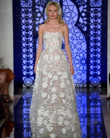 Reem Acra Fall 2016 Wedding Dress Collection   Martha Stewart Weddings