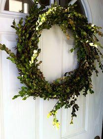 HollyHox: boxwood wreathing