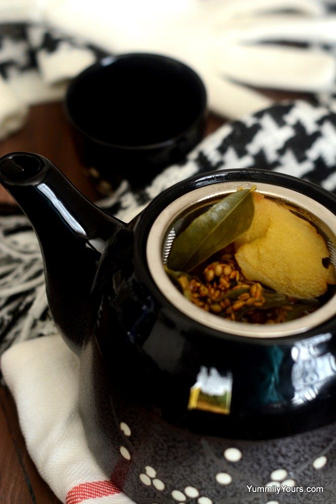 herbal chai tea  home remedy for sore throat  cold