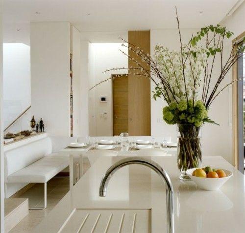 Decoración de Cocinas Modernas Blancas – Cocina | Cocinas ...