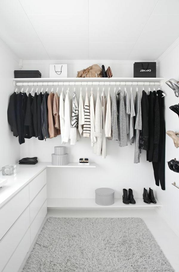 Begehbarer Kleiderschrank - wie Sie die perfekte Ordnung schaffen #zimmer+deko