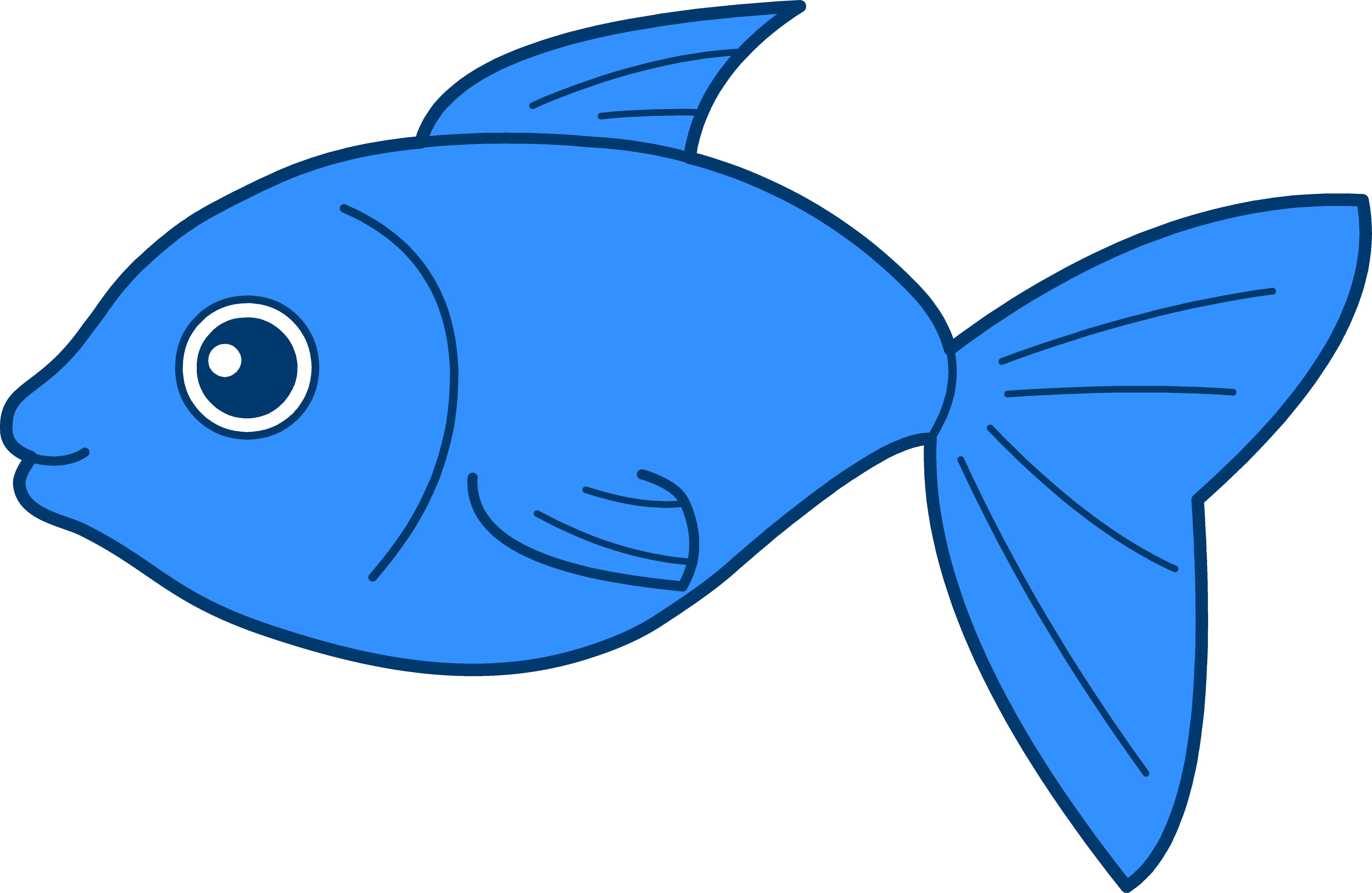 free fish clipart happy blue fish png 6805 4431 fancy books rh pinterest com