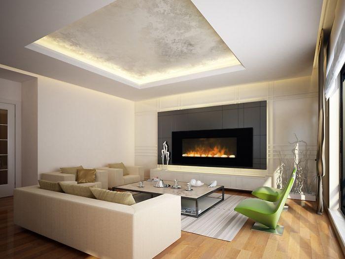 Cheminée électrique décorative design