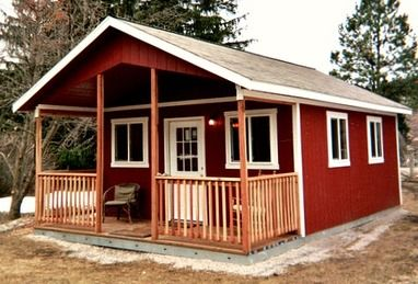 February 2014 Shed of the Month   Tiny Spaces and Places