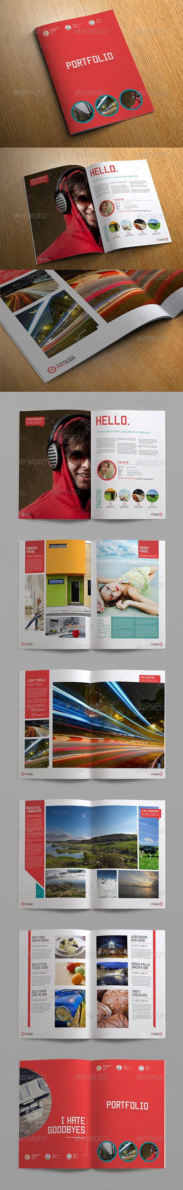 Sleek Photo Album Portfolio