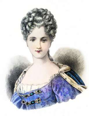 Fashion history. The Reign of Louis XV. 1715 to 1774