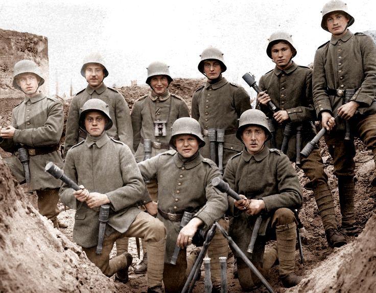 Pin by Mason Phillips on WWI Colorized | Ww1 history, World war, World war one