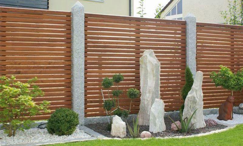Bildergebnis für sichtschutz garten granit Gartengestaltung