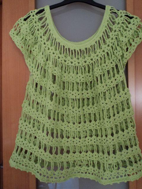 5337270b1 Blusas caladas tejidas a crochet patrones - Imagui | Para hacer ...