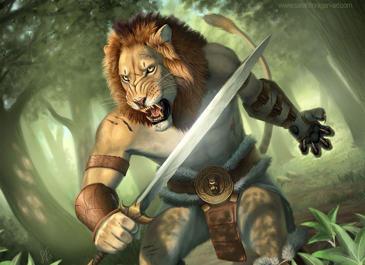 Deviantart Lion Warrior: Furrys/ Anime Animals