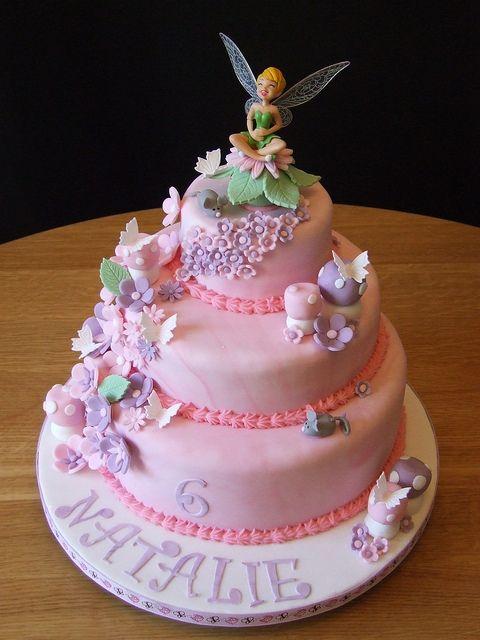 Tinkerbell Birthday Cake 2 Tinkerbell Birthday Cakes Tinkerbell
