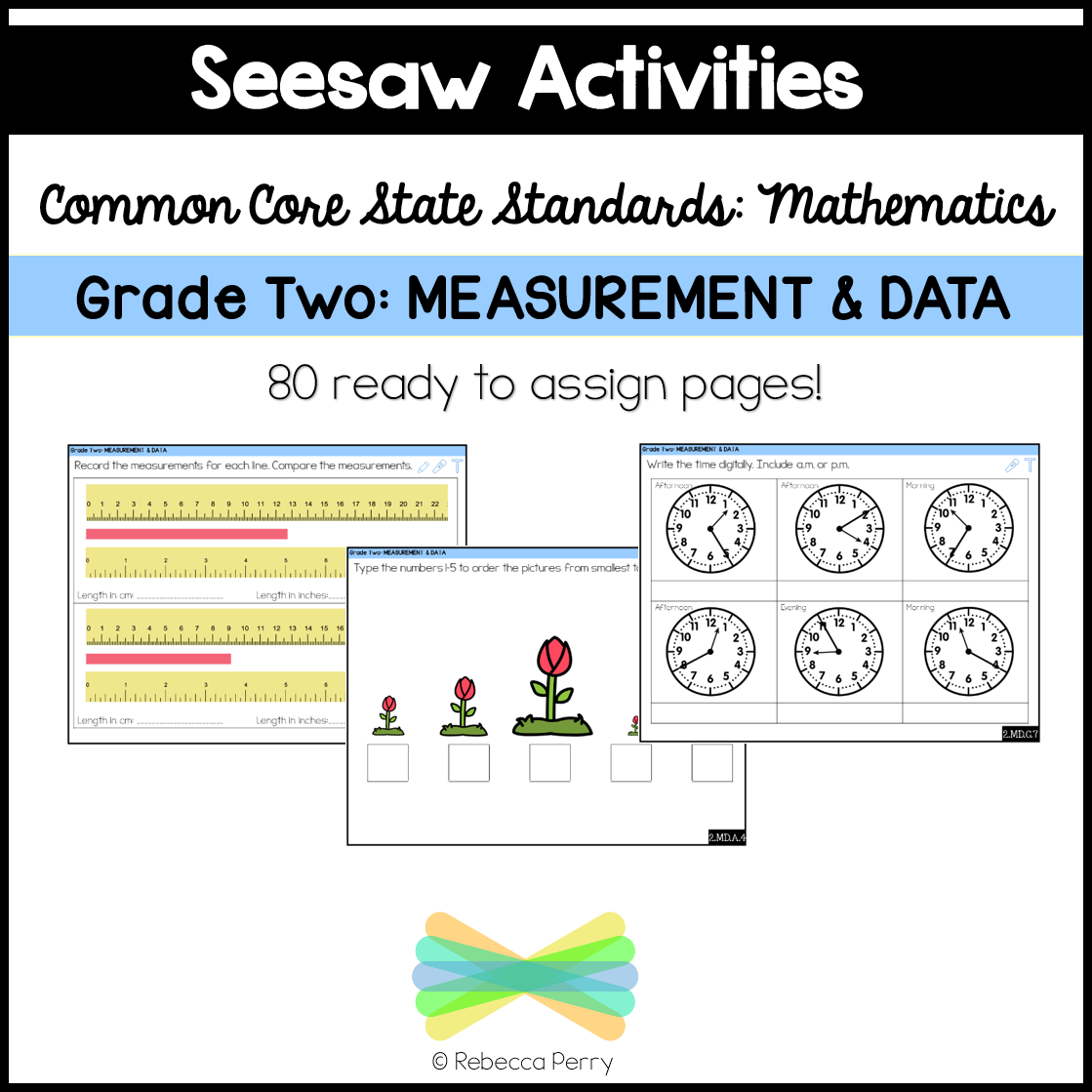 hight resolution of Seesaw Activities CCSS Grade Two Measurement \u0026 Data Online Learning