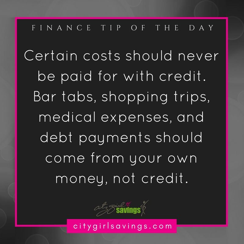 Avoid using credit on these purchases online bank