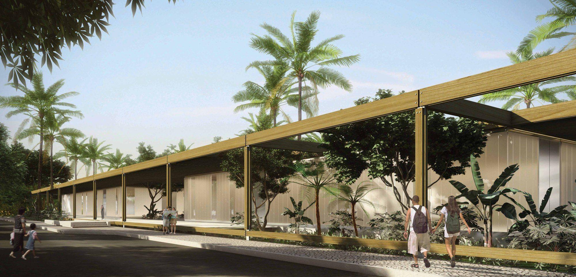 Menção Honrosa no Concurso para o Centro Cultural de Eventos e Exposições em Paraty / Filipe Gebrim Doria