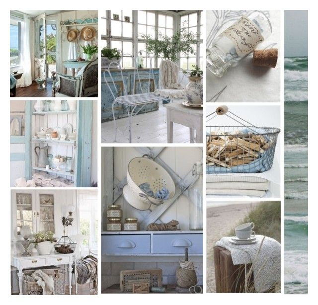 """Last Days at the Beach House"" by leegal57 ❤ liked on Polyvore featuring art"