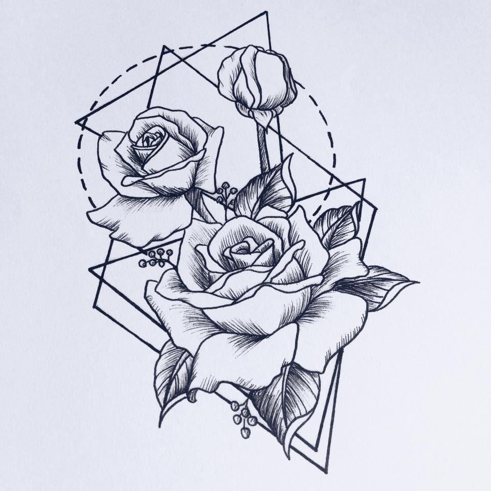 Pinterest TMLKY ♡ Татуировки с геометрическим дизайном