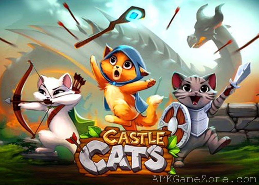Castle Cats Money Mod Download APK Kitty games