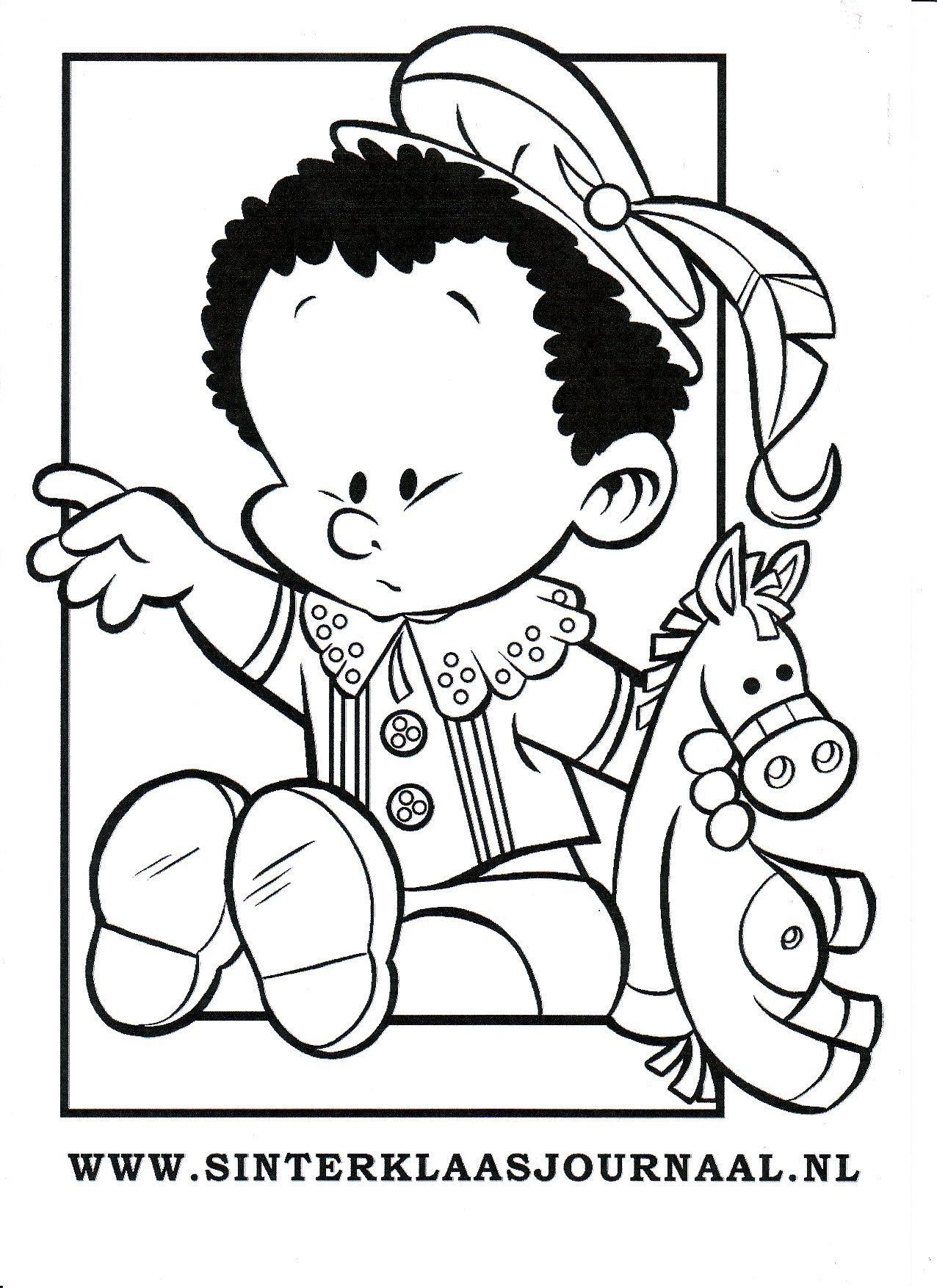 Kleurplaten Sinterklaas Babypiet.Kleurplaten Baby Piet Bizconnect Nieuwe Kleurplaten Sinterklaas