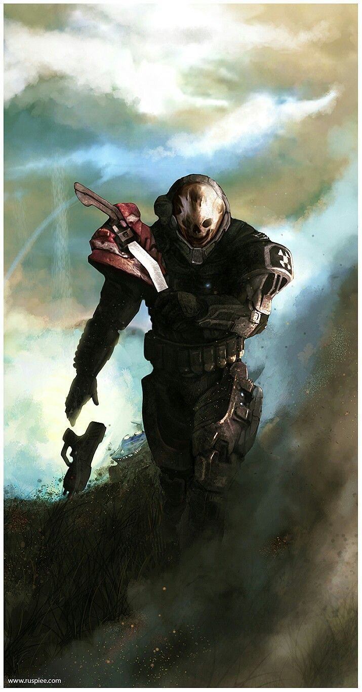 Halo Reach Emile (With images) Halo reach, Halo armor
