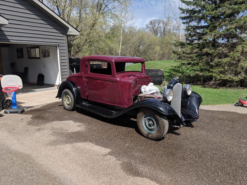 1932 Plymouth PB coupe (Chisago City, MN) 17,000 call our