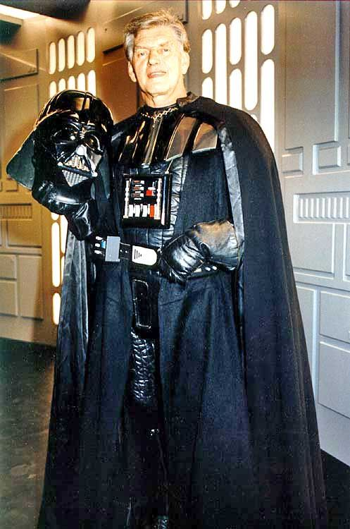 David Prowse as Darth Vader, 1977, star wars. The unknown star of the beginning of it all.