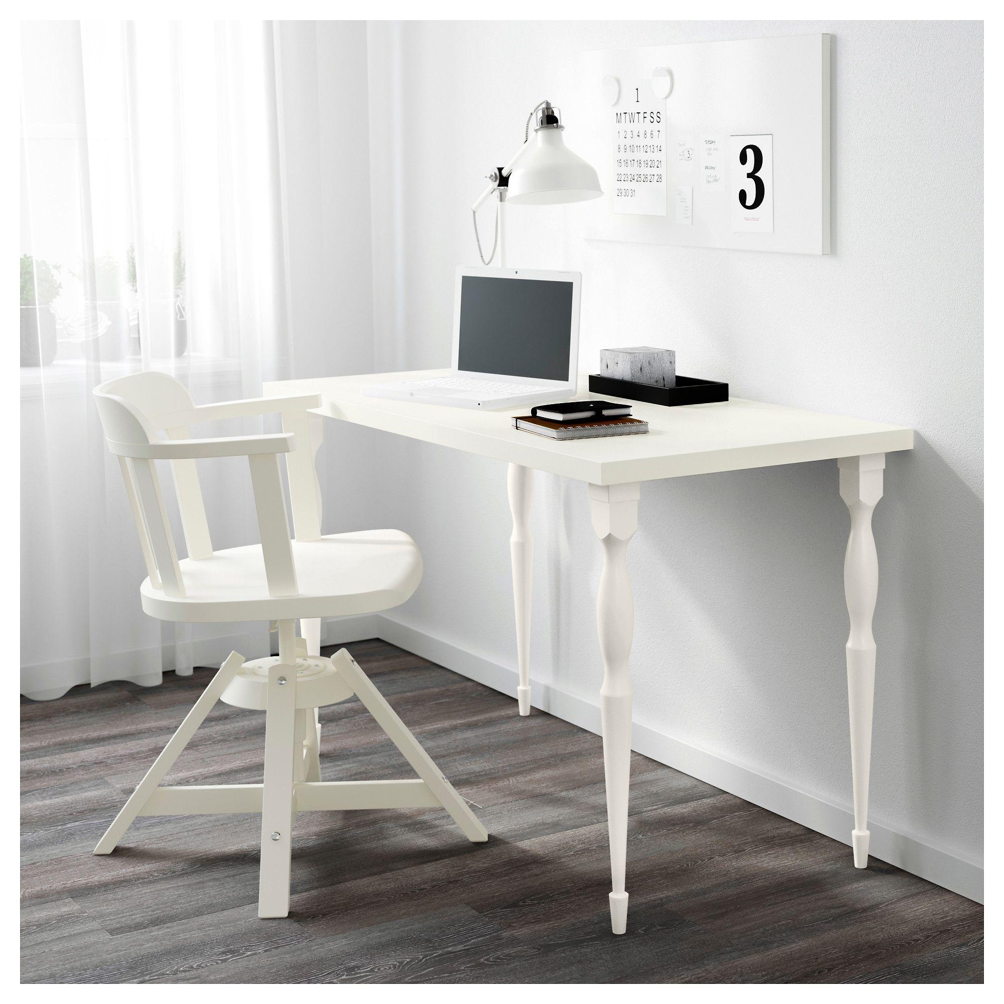 Ikea Linnmon Table Top White