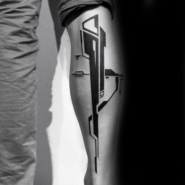 Top 103 Unique Tattoo Ideas 2020 Inspiration Guide Blackwork Tattoo Cyberpunk Tattoo Geometric Sleeve Tattoo