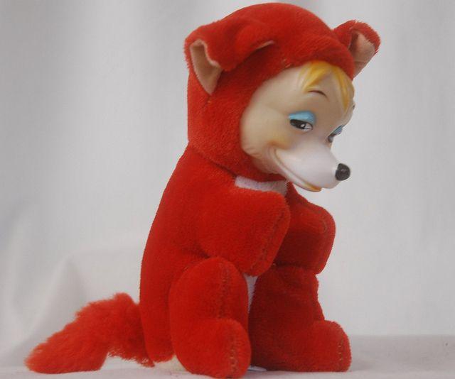 Vintage 1960 S Woolikin Plush Fox Rushton Toys Vintage Toys Vintage Kids Toys
