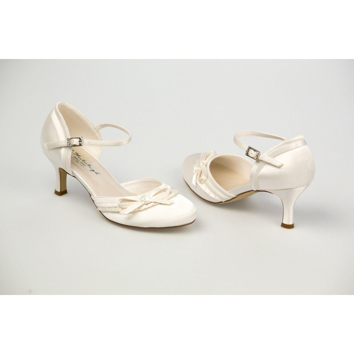 Satin Chaussures De Mariée En Talon Cm 6 rWdBCexo