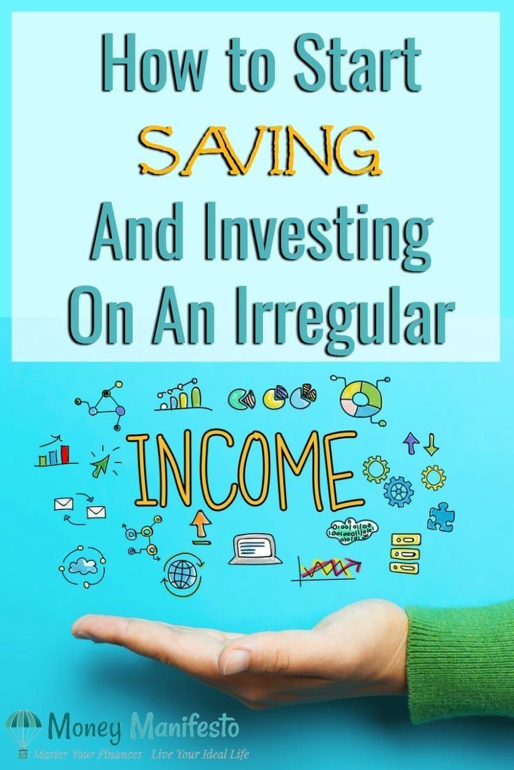 Start saving & investing on an irregular income! #startsavingmoney