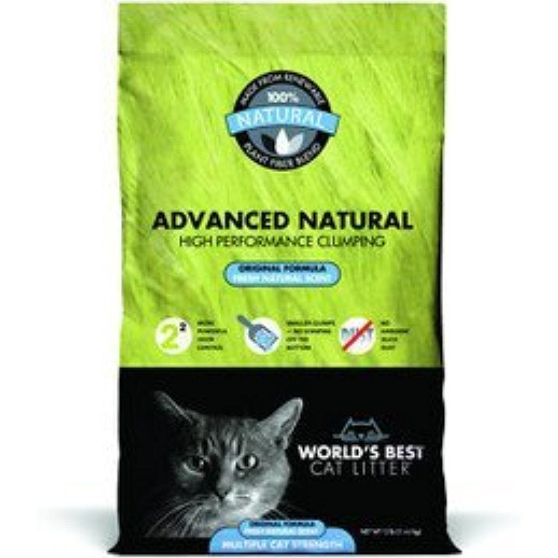 WORLDS BEST CAT LITTER ADVANCED NATURAL ORIGINAL You