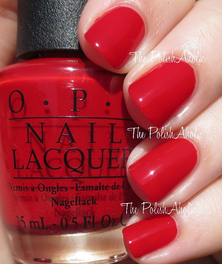 Opi Holiday 2017 Gwen Stefani Collection Swatches What S Your Point Settia A Really Nice Red Polish In Pictures